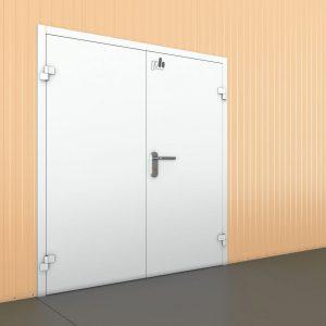 Технологические двустворчатые двери