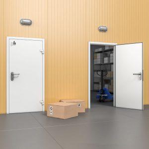 Технологические одностворчатые двери